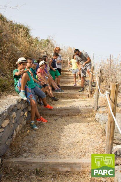 Passeggiata al colle di Santu Antine durante il campo estivo