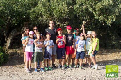 Foto di gruppo durante il campo estivo