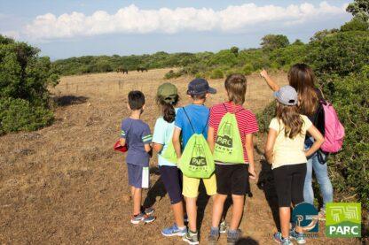 Passeggiata al parco della Giara Santu Antine durante il campo estivo