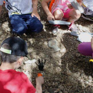 Campo estivo del piccolo archeologo